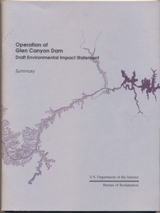 Operation of Glen Canyon Dam Draft Environmental Statement- Summary (U.S. Department of the...