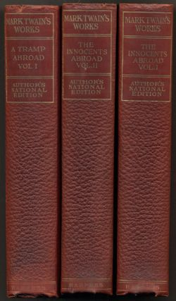 The Writings of Mark Twain (Works of Mark Twain) - 24 of 25 volumes. Mark Twain, Samuel L. Clemens