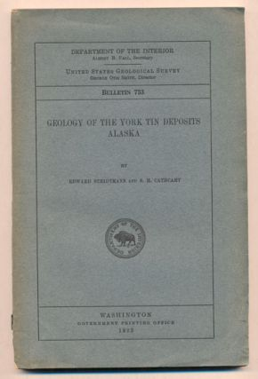 Geology of the York Tin Deposits, Alaska (Department of the Interior United States Geological...