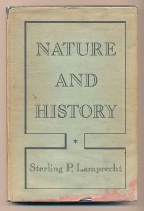 Nature and History. Sterling P. Lamprecht