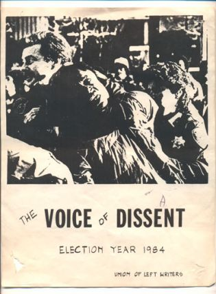 The Voice of Dissent. Election Year 1984 (Poster)