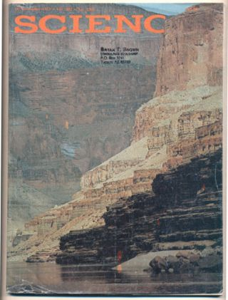 Science Volume 202, No. 4368, 10 November 1978 (Grand Canyon; Colorado River