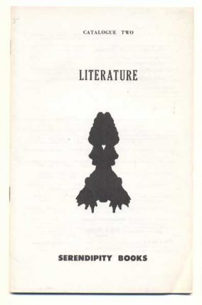 Serendipity Books Catalogue Two: Literature. Peter B. Howard