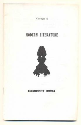 Serendipity Books Catalogue 12: Modern Literature. Peter B. Howard