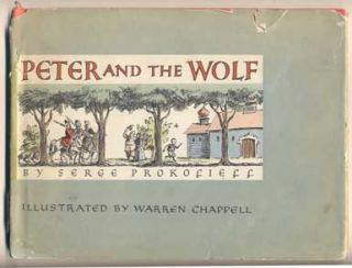 Peter and the Wolf. Serge Prokofieff, Serge Koussevitzky