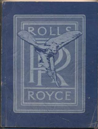 Rolls-Royce: An Album of Sales and Institutional Literature. Volume II- The American Rolls....