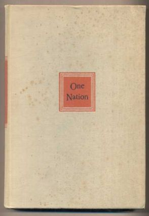 One Nation. Wallace Stegner