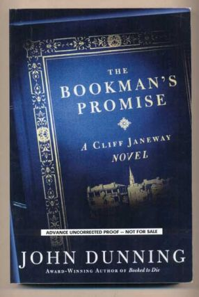 The Bookman's Promise: A Cliff Janeway Novel. John Dunning