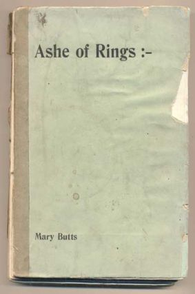 Ashe of Rings. Mary Butts