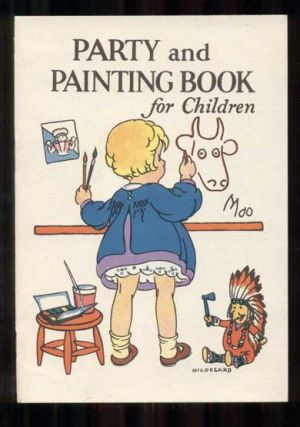 Party and Painting Book for Children. Junket