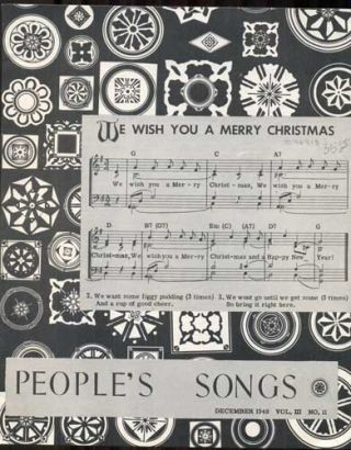 People's Songs Volume III, Number II, December 1948. Woody Guthrie