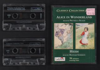 Alice in Wonderland/ Heidi (Audio Cassettes - Classics Collection Four). Lewis Carroll, Johanna...