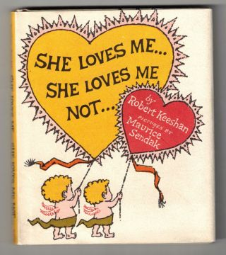 She Loves Me... She Loves Me Not. Robert Keeshan, Maurice Sendak, Captain Kangaroo