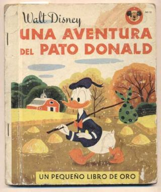 Una Adventura Del Pato Donald (Donald Duck's Adventure). Walt Disney