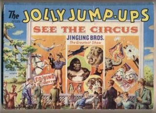 The Jolly Jump-Ups See the Circus. Geraldyne Clyne