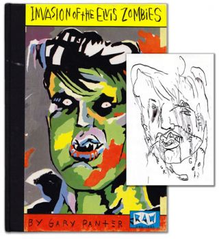 Invasion of the Elvis Zombies. Gary Panter