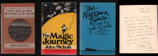 New Mexico Trilogy: The Milagro Beanfield War - The Magic Journey - The Nirvana Blues. John Nichols