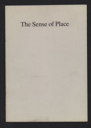 The Sense of Place. Wallace Stegner