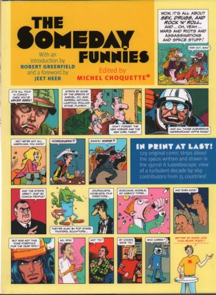 The Someday Funnies. Michel Choquette, Robert Greenfield, Jeet Heer, Introduction, Foreword