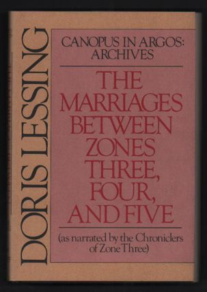The Marriages Between Zones, Three, Four, and Five (As Narrated by the Chronicles of Zone Three)...