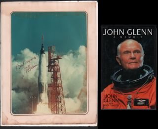 John Glenn: A Memoir (with signed photo). John Glenn, Nick Taylor.