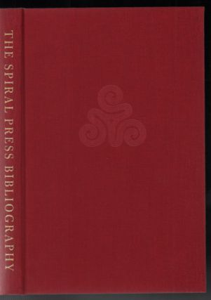 The Spiral Press [1926-1971]: A Bibliographical Checklist. Philip N. Cronenwett