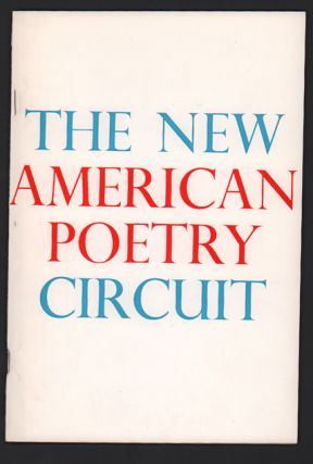 The New American Poetry Circuit. First Season: 1970-71