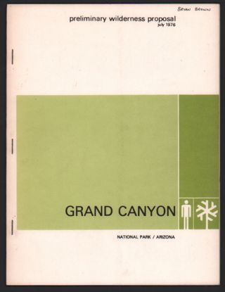 Preliminary Wilderness Proposal, July 1976, Grand Canyon National Park