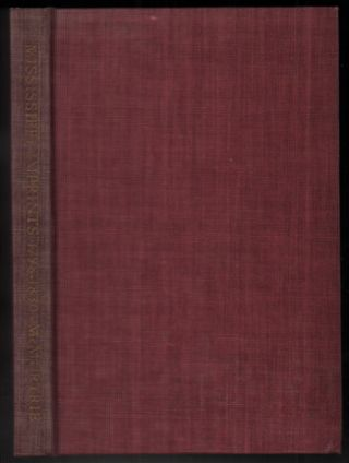 A Bibliography of Mississippi Imprints 1798-1830. Douglas C. McMurtrie