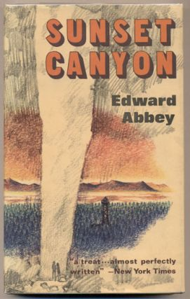 Sunset Canyon. Edward Abbey