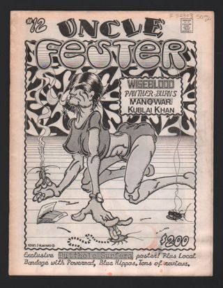 Uncle Fester Fanzine #12. Punk Rock / Metal Fanzine