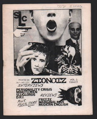 ZioNoiz Volume 1, Issue 3. Punk Rock Fanzine