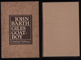 Giles Goat-boy; or, The Revised New Syllabus. John Barth