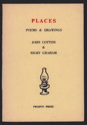 Places: Poems & Drawings. John Cotton, Rigby Graham