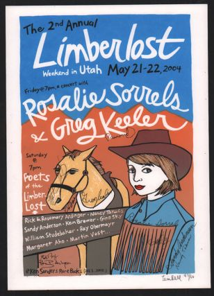 Signed, Limited Edition Limberlost Poster by Artist Leia Bell. Leia Bell
