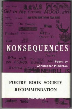 Nonsequences. Christopher Middleton