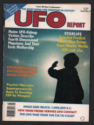 UFO Report Volume 6, Number 3, September 1978