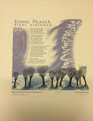 School Prayer. Diane Ackerman