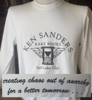 Ken Sanders Rare Books T-Shirt - Unisex White Long Sleeve(L)