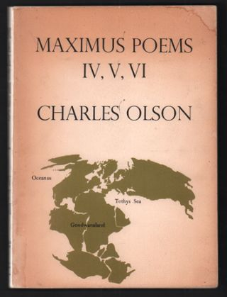 Maximus Poems IV, V, VI. Charles Olson