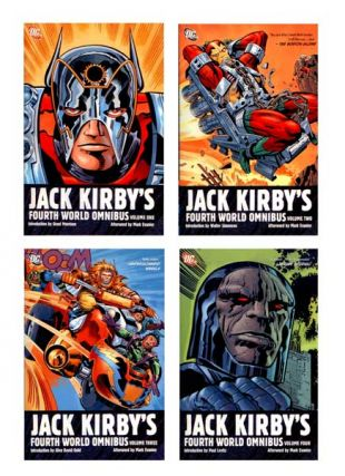 Jack Kirby's Fourth World' Omnibus: Complete Set (Vol 1-4). Jack Kirby, Walter Simonson Grant...