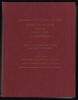 Studies in Mormon History, 1830-1997: An Indexed Bibliography. James B. Allen, David J. Whittaker...
