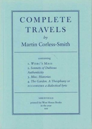 Complete Travels. Martin Corless-Smith