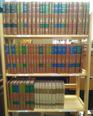 Great Books of the Western World / The Great Ideas Program Volumes 1-10 (64 volumes). Mortimer J....