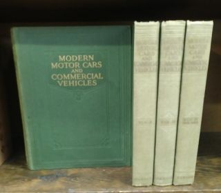 Modern Motor Cars and Commercial Vehicles: Their Principles, Construction, Maintenance, and...