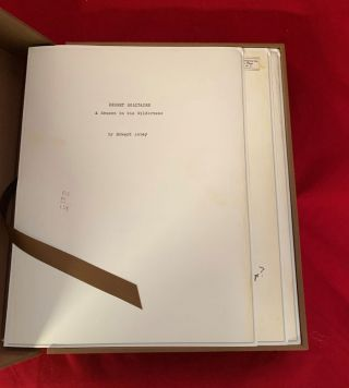 Desert Solitaire: Facsimile Edition of First Manuscript Draft