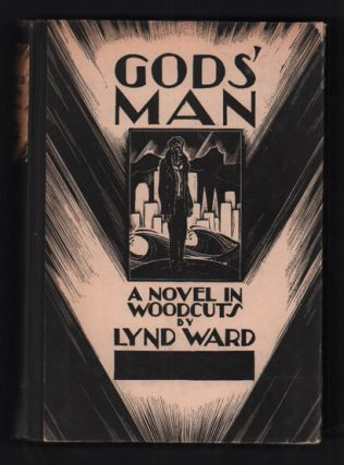 Gods' Man: A Novel in Woodcuts (Autographed presentation copy). Lynd Ward