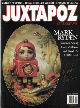 Juxtapoz, Art & Culture. Issue #17/Winter 1998. Mark Ryden.