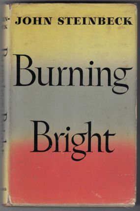Burning Bright: A Play in Story Form. John Steinbeck