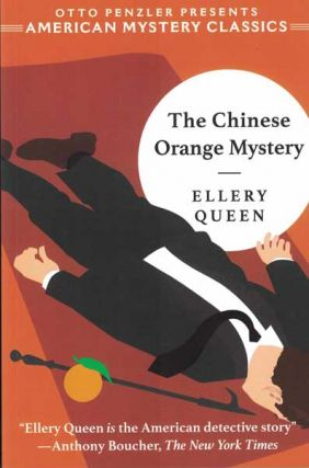 The Chinese Orange Mystery. Ellery Queen.
